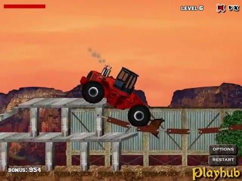 Video of Bulldozer mania