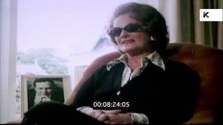 1970s Queenie Epstein on Meeting the Beatles, Brian Epstein Mother | Kinolibrary