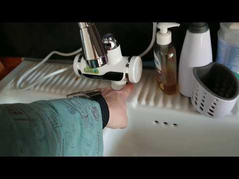PARAMITA elektrischer Durchlauferhitzer/Wasserhahn - ausgepackt, eingebaut & ausprobiert