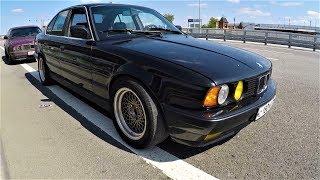 ГОНКИ: BMW e34 M50 st1 vs M50 Vanos