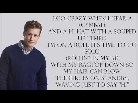 Glee 1x17 - Ice Ice Baby [with lyrics]