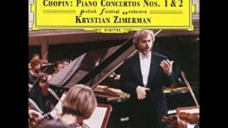 Krystian Zimerman Plays Chopin Piano Concerto No.2 【High Quality】【Complete】