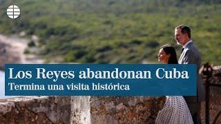 Los Reyes viajan de Cuba a Washington en una visita privada
