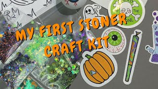 Stoner Studio Vlog: Putting Together my Stoner Halloween Craft Kit by Chronic Crafter