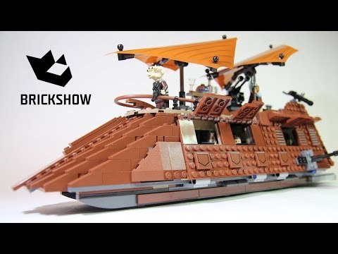 Vidéo LEGO Star Wars 75020 : Jabba's Sail Barge