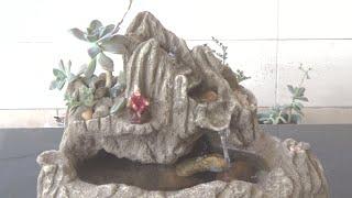 Como Fazer Uma Fonte Para Jardim Com Pequenos Espaços, Usando Pet E Isopor