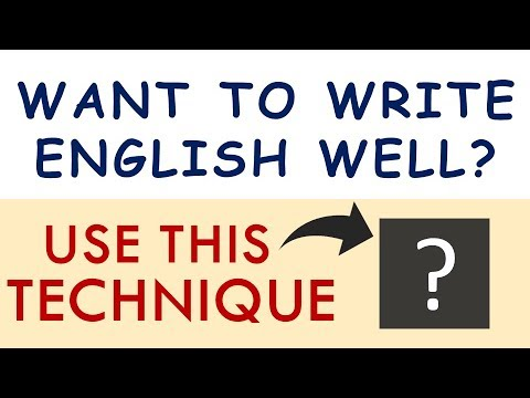 How to Improve English Writing Skills (without studying grammar)
