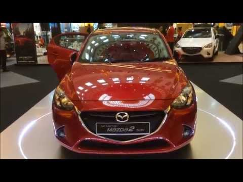 Mazda 2 Skyactiv Sedan 2015 Exterior & Interior Walk Around