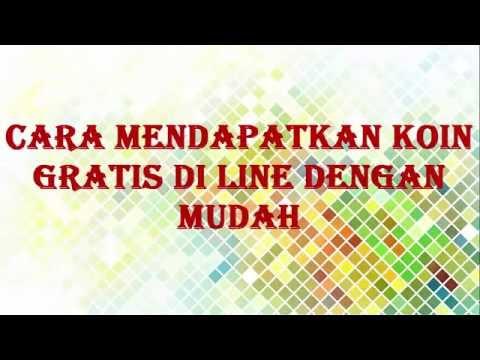 Video CARA MENDAPATKAN KOIN GRATIS DI LINE DENGAN MUDAH