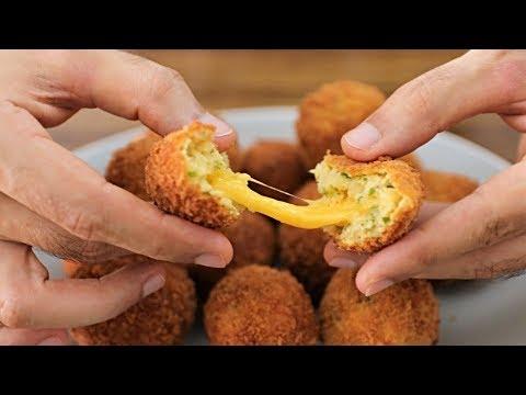 Cheese Stuffed Mashed Potato Balls Recipe