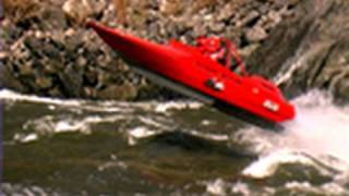 White Water Jet Boat Racing Video