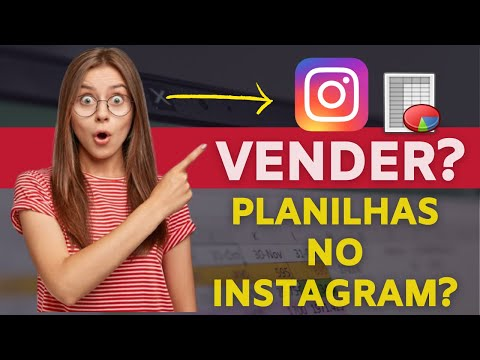 Como VENDER Planilhas de Excel Online no Instagram! (Freelancer Excel)