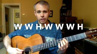 The C Major Scale (Lesson 2)