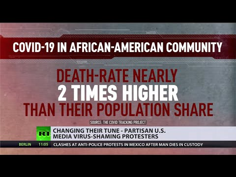 Changing their tune | Partisan US media virus-shames BLM protesters