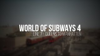 World of Subways 4 - New York Line 7 video