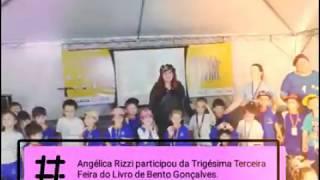Angélica Rizzi participou da 33ª Feira do Livro de Bento Gonçalves
