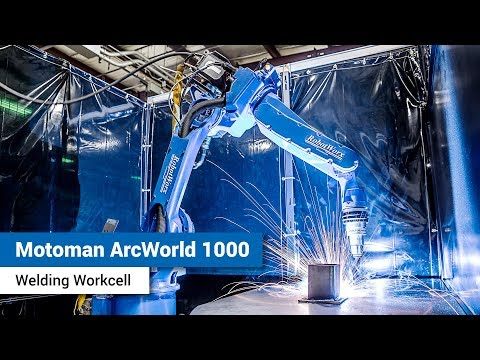 Motoman ArcWorld 1000 Workcell
