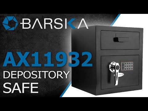 Secure Deposit Drop Box Safe with Digital Keypad by Barska
