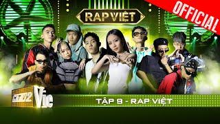 RAP VIỆT Tập 9   Tage mang cả thế giới toán học vào rap cực đỉnh, Tlinh rơi vào vòng đấu định mệnh