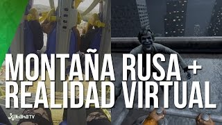 Batman y la primera montaña rusa con realidad virtual de España