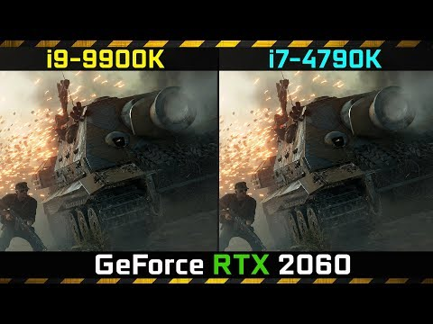 Battlefield V RTX 2070 - i7 4790k - Ray tracing - смотреть
