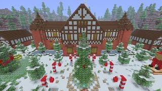 Santa S Workshop Minecraft Hide N Seek Minecraftvideos Tv