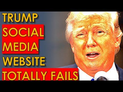 Trump FURIOUS that his Social Media Site FAILS MISERABLY