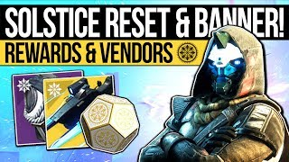 Destiny 2 | SOLSTICE RESET & FINAL BANNER! Nightfall Exotic, New Rewards & Eververse (14th August)
