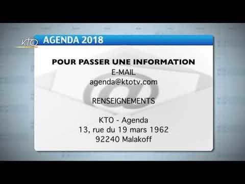 Agenda du 12 février 2018