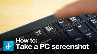 How to take a screenshot on a PC