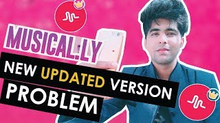 MUSICAL.LY NEW UPDATED VERSION PROBLEMS   MUSICAL.LY LIPSYNC PROBLEM SOLVED  #NEW VERSION MUSICAL.LY