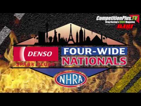 LAS VEGAS 4-WIDE - ANDERSON'S K&N FILTERS SHOOTOUT HEADLINES FINAL QUALIFYING DAY