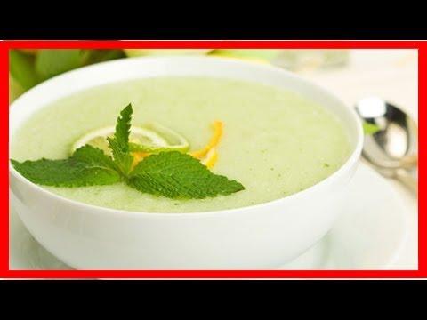 Diese kalte Suppe lässt uns abnehmenAbnehmen mit Melonensuppe: So geht's!