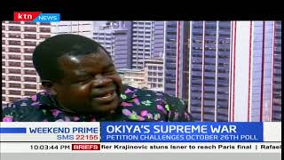 Activist Okiya Omtata seeks the court to rule on whether there was an election was there in October