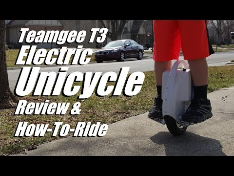 Teamgee T3 Electric Unicycle Review & How To Ride