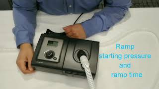 CPAP Therapy Tips: Starting Pressure and Ramp Time