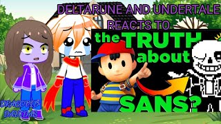 Deltarune and Undertale Reacts To Is Sans Ness? by The Game Theorists | Part 2