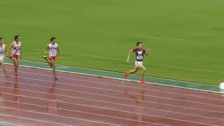 H29 日本選手権リレー 男子4x400mR 決勝