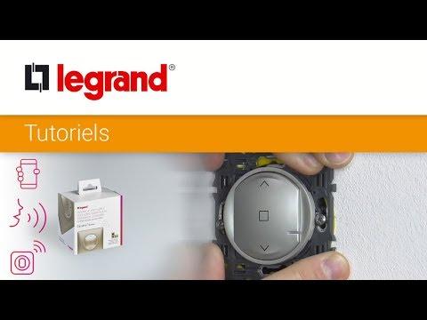 Interrupteur filaire connecté Céliane with Netatmo pour volet roulant - graphite