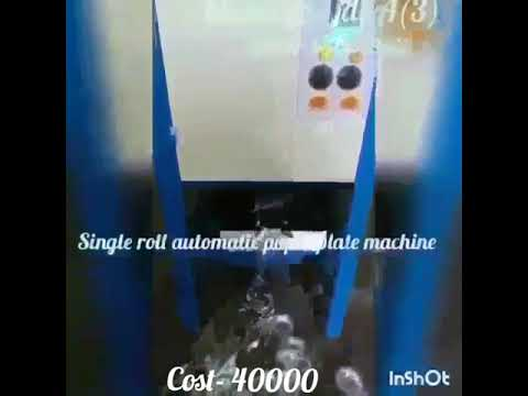 Dona Paper Plate Making Machine