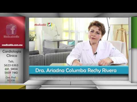 Causas y el tratamiento de síntomas de hipertensión