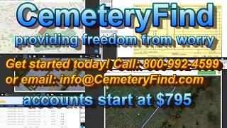 CemeteryFind video