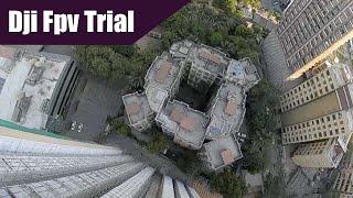 Dji fpv trial