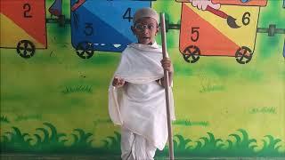 Mahatma Gandhi Fancy Dress Competition- Winner