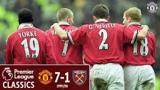 Video Premier League Classic | Manchester United 7-1 West Ham | 1999/00 MP3, 3GP, MP4, WEBM, AVI, FLV Agustus 2019