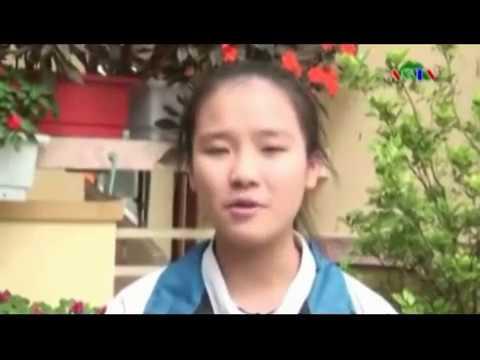 Em Dương Quỳnh châu trường THCS Anh Sơn, Nghệ An