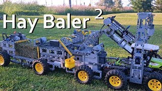 Hay Baler 2 (Square)  - Lego Technic