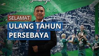 Persebaya Surabaya Rayakan Ulang Tahun Ke-93, Ketua Umum PSSI Iwan Bule Berikan Ucapannya