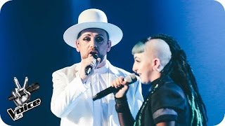 Boy George and Cody Frost perform 'Imagine': The Live Final - The Voice UK 2016