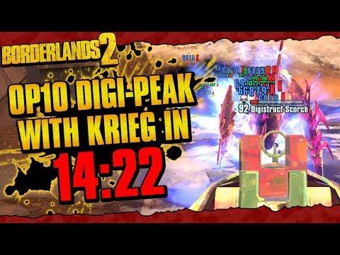 Download Borderlands 2 Insanely Strong Op 10 Krieg Build Video 3GP